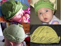 - uploaded by veraxangai LINK / ССЫЛКА Knit Crochet, Crochet Hats, Lace Knitting Patterns, Baby Bonnets, Rubrics, Winter Hats, Crafts, Collection, Link