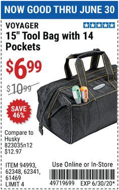 Harbor Freight Tools, Gym Bag, Pocket, Bags, Travel, Handbags, Bag, Totes, Hand Bags