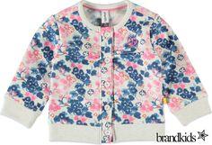 Babyface Sweatvest creme - Meisjes Baby Truien, Sweaters en Vesten €24,95