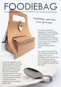 Foodiebag, designed by VerdraaidGoed!