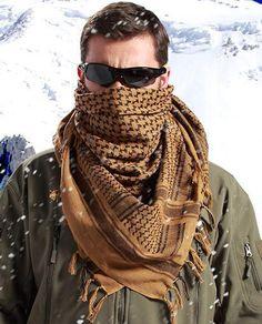 Shemagh Tactical Desert Arabic Keffiyeh Scarf Cotton