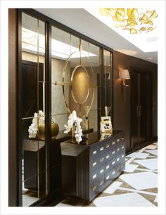 Modern Hallway Ideas from the Best Interior Designers Entrance Foyer, Entry Hallway, Entryway Decor, Entrance Halls, Entryway Ideas, Classic Interior, Best Interior, Luxury Interior, Luxury Furniture