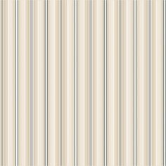Sample of Farleigh Stripe Wallpaper in Ivory and Cream design by Ronald Redding