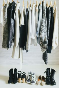 Inspired to do a capsule wardrobe … 3 Easy Ways to Streamline Your Wardrobe | Camille Styles