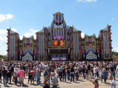 Hardstyle-stage bij #Dreamfields 2015 #Lathum #Rhederlaag #Zevenaar. Zaterdag 27 juni 2015.