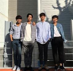 Park Seo Joon, ZE:A's Hyungsik, BTS' V, and Do Ji Han: Handsome actors of 'Hwarang: The Beginning' shoot poster for drama | allkpop.com
