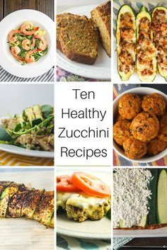 With the end of zucchini season in sight, now is the time to savor this delicious and versatile vegetable to make some delicious healthy recipes. From salads to baked goods to pasta to meatballs, zucchini is a great way to eat more veggies and make some seriously yummy food. Here are some of my favorite ways to use zucchini!