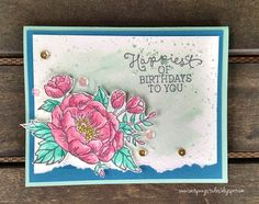 Sootywing Studios, Birthday Blooms, Stampin' Up!