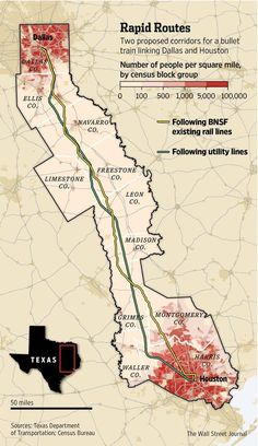 Texas group races for high-speed rail. http://on.wsj.com/1CgUx86