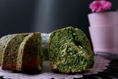 Spinach bundt cake