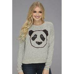 BCBGeneration Panda Pullover (Heather Grey) #panda #pullover