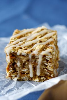 Apple Oatmeal Squares - Bake.Eat.Repeat.