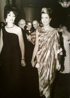 Princess Grace with Maria Callas
