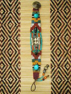 ~ weaving bracelet ~ by AowDusdee, via Flickr