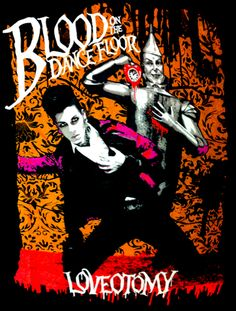 "Blood on the Dance Floor ""Loveotomy"" shirt from Bigcartel"