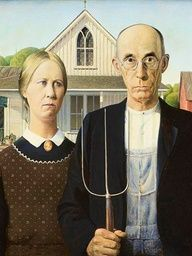 Journey to the American Gothic House in Eldon, Iowa.     www.midwestliving...