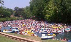 Float!  New Braunfels, Texas