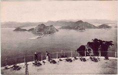 Mirante do Morro do Pão de Açúcar em 1922