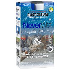 NeverWet 275185 Liquid Repelling Treatment-Liquid rolls right off any surface sprayed. Impossibly dry. Use it for boots, lawn movers left outside, masonry,