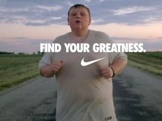 Nike is not an Olympic sponsor this year but that hasn't stopped it from borrowing interest in what it takes to compete in the games. The result—this thoughtful, unexpectedly moving video of an overweight pre-teenager, Nathan, forcing himself to run down a lonely road in London, Ohio—is fantastic. Note that it's filmed in a single, unedited take.