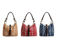 Lovin' these JADEtribe Nicole sholder bags! Love all 3 colors!