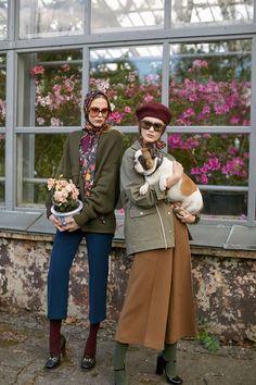 Laroom  #VogueRussia #readytowear #rtw #fallwinter2017 #Laroom #VogueCollections