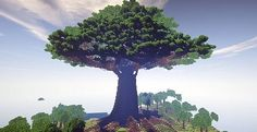 Mother of Trees | Largest Ever And A Town | Minecraft Building Inc