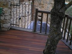 Obra Molino s.XVII Corçà, Lleida   PARK HOUSE STUDIO   Parquet Madera Pavimento #tarima #madera #ipe #exteriores #parkhouse #lleida #molino