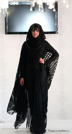 Eid-Al- Adha Abaya Inspiration | Nspired Style , Exclusive Abayas, Abaya, Black on Black Abaya