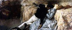 Gaetano Previati. Paolo e Francesca (1887).