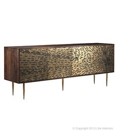 Peacock Buffet Sideboard