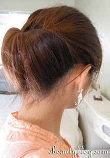 EbeautyBlog.com: 2 Minute Updo For Work