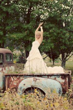 Sullivan Photography- vintage bride