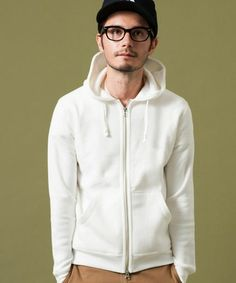 TCR SOFT URAKE ZIP パーカー  / hoodie on ShopStyle