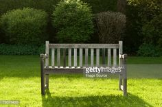 Stock Photo : Bench in a park Outdoor Furniture, Outdoor Decor, Royalty Free Images, Bench, Stock Photos, Park, Photography, Home Decor, Photograph