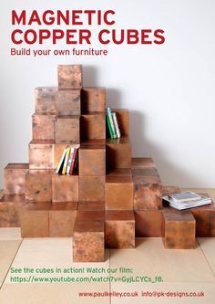 See the copper cubes in action: https://www.youtube.com/watch?v=GyjLCYCs_f8 ….