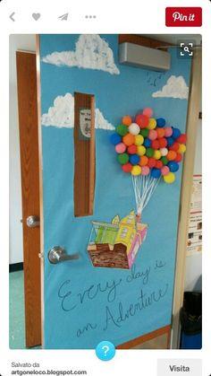 porte decorate x scuola