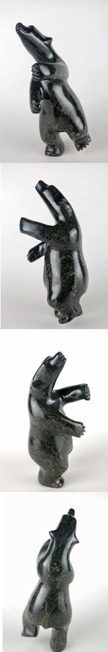 Inuit sculptures always capture my imagination.