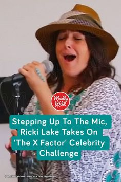 "Former talk show host Ricki Lake joined the cast of ""X Factor Celebrity"" hoping to achieve her dream of becoming a singer. It was the first time she's really sung in front of an audience, and everyone was moved by her emotional performance."