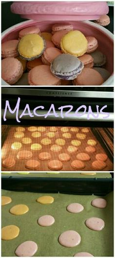 Macarons... Sooo yummie! Special Recipes, Griddle Pan, Macarons, Meals, Recipes, Credenzas, Meal, Grill Pan, Macaroons