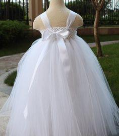 White Tutu Dress for Girls
