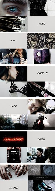 The Mortal Instruments characters