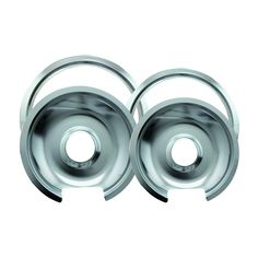 Range Kleen Drip Pan Trim Ring Chrome 1 Small/6' Pan Ring and 1 Large/8' Pan Ring - 4 Pack * You can get more details by clicking on the image.