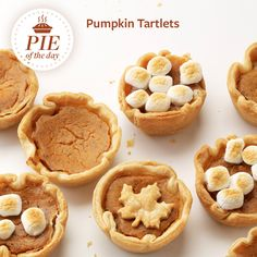 Pumpkin Tartlets Recipe from Taste of Home -- shared by Jessie Oleson, Santa Fe, New Mexico