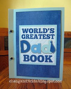 World's Greatest Dad Book ~ FREE Printable