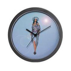 #Winter #Girl #Wall #Clock> Winter> Your #Fantasy World