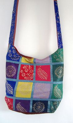 Rajasthani ethnic Indian tribal bag cotton and by elephantsofindia