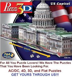 Google+For All You Puzzle Lovers. We Have One (or 2, or 3) Just For you.  We Have The AC/DC Puzzles, 4D Puzzles, 3D Puzzles, and Flat Puzzles. Purchase Yours Through Us.  We Support Breast Cancer Research. 20% of our commission is Donated to the National Breast Cancer Foundation, Inc., and Go Fund Me.  http://www.entertainmentearth.com/hitlist.asp?theme=Puzz+3D&id=GO-412128922