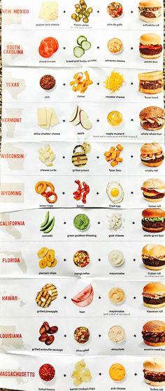 New food truck ideas menu sandwich recipes Ideas<br> Food Trucks, Food Truck Menu, Food Menu, New Recipes, Cooking Recipes, Cooking Food, Recipes Dinner, Cuisine Diverse, Sandwich Recipes
