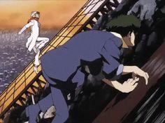 Spike Spiegel | Cowboy Bebop - See more anime at: www.cartoonanimefans.com